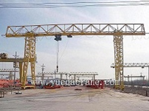 MH Model Single Girder Gantry Crane(Girder Frame)