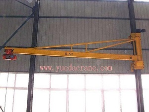 BZQ Model Wall Mounted Jib Crane