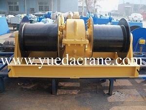JM model double drum electric winch