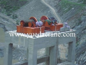 QPQ model electric winch for water gate
