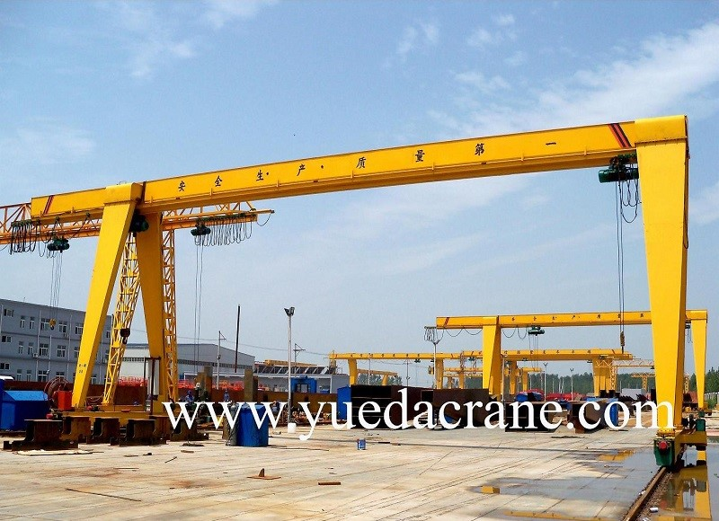 MH model box frame single beam gantry crane