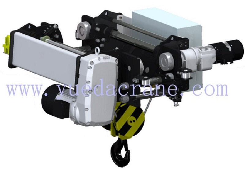 european standard wirerope type monorail electric hoist