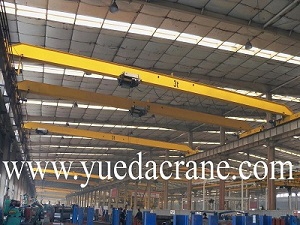 HD model european standard single girder overhead crane