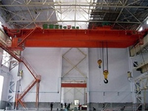 QB model explosion proof double beam bridge crane
