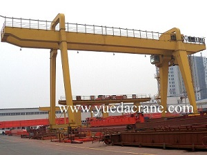 MG model double beam gantry crane