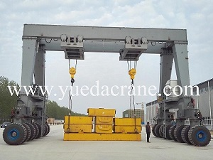 RTG rubber tyre mobile gantry crane