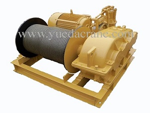JK model high speed electric winch