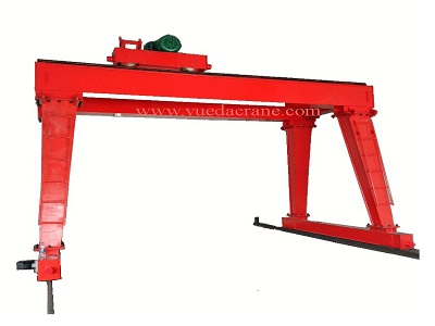 MHS model double girder gantry crane