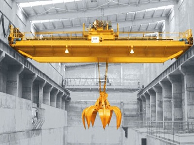 QZ model double beam overhead grab crane